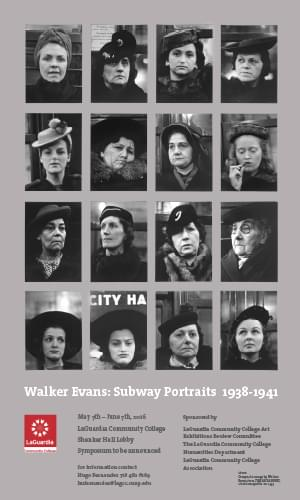 Walker Evans: Subway Portraits - Commercial Photography