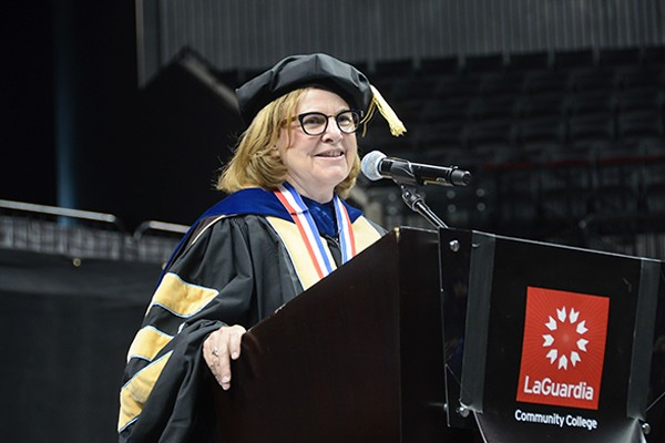 President Mellow to Give Her Final Commencement Address