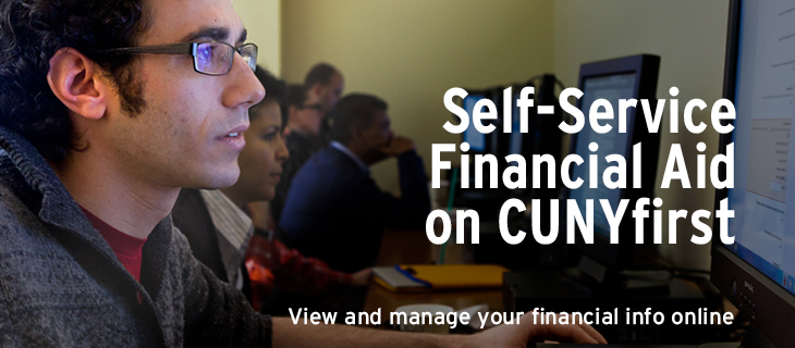 Self-Service Financial Aid on CUNYfirst